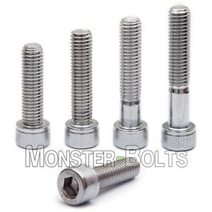 M8 Stainless Steel Socket Head Cap Screws A2 18 8 Metric Din 912 1 25 Coarse