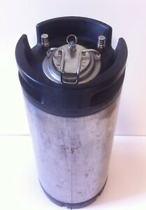 5 Gallon Ball Lock Keg low Profile Beer Kombucha Coffee Home Brew Corny Keg