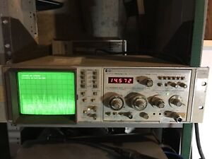 Hp Spectrum Analyzer 8559a new Tube Retailed At 4 400 01 21 Ghz