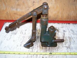 Old Hand Lever Fuel Gas Water Pump Hit Miss Gas Engine Steam Cast Iron Oiler Wow