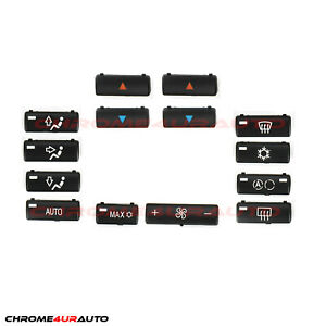 Bmw E39 E53 525i 530i 540i M5 X5 Replacement Climate A C Control Panel Buttons