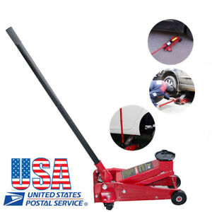 Usa Heavy Duty Truck Auto Mechanic 3 Ton Steel Garage Shop Floor Jack Lift