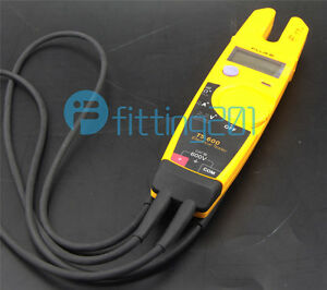 Fluke T5 600 Clamp Continuity Current Electrical Tester Clamp Meter