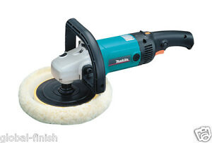Makita 9237cb 7 180mm Sander polisher 240v With Standard 3 Pin Uk Plug