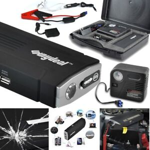 Led 82800mah Portable Car Jump Starter Pack Booster Charger Battery Power Bank