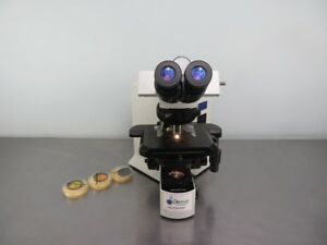 Olympus Bx51 Research Microscope With Warranty