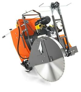 Husqvarna Target Fs3500 26 Concrete Saw Wisconsin V4 35hp Gas Engine