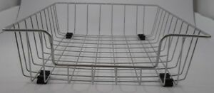 Vintage Industrial Wire Basket Desk Organizer Paper Letter Tray Holder Lot Of 4