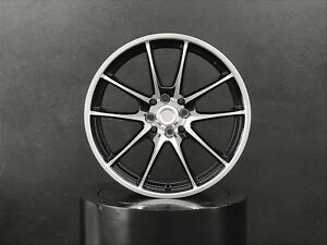 Wheels Rims 17x7 Inch 5x114 3 35 Black For Mitsubishi Evolution 3000gt Eclipse