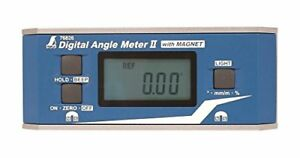 Shinwa Rules Digital Angle Meter 2 With Magnet 76826