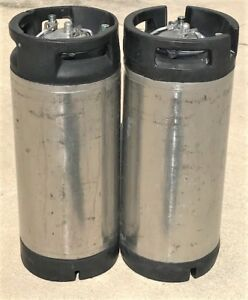 5 Gallon Pin Lock Keg Beer Kombucha Coffee Home Brew Corny Keg Pack Of 2