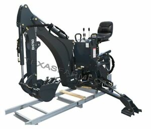 Ansung Bh760 3 point Backhoe 16 Bucket Ships Free To Tx Surrounding States
