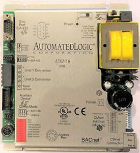Alc Automated Logic Corp Uni 59 2mb Bacnet Network Interface Control Module