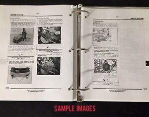 Kubota Rtv x900 Rtv x1120d Utility Tractor Service Repair Manual 3 Ring Book