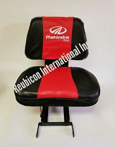 Mahindra Tractor Seat Cover red And Black small