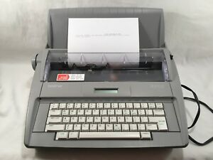 Brother Sx 4000 Portable Electronic Typewriter With Lcd Display W Bonus Items