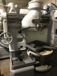 Fellows 645 Gear Shaper With 13 Riser Hollow Spindle And Cutter Elevation