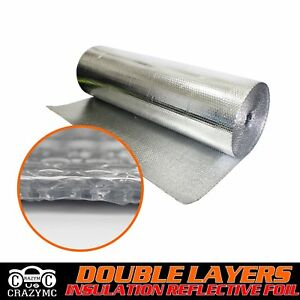 40 X 60ft 200 Sqft Double Bubble Radiant Barrier Insulation Foil double foil