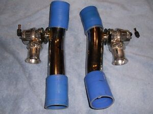 Blitz 300zx Twin Turbo Blow off Valves 90 96 Z32 Bov Hard Pipes Rare Set