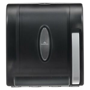 Roll Paper Towel Dispenser Black Georgia Pacific Multifold Automatic Touchless