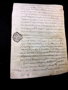 Antique Parchment 1771