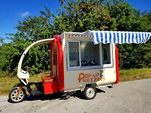 Food Truck Vending Trailer Kiosk Food Cart Hot Dog Cart Catering Concessions