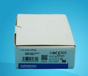 1pcs New In Box Omron Guard Lock Safety Door Switch D4nl 1hfg b