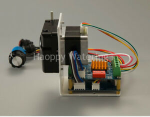 Hsh flo Dc12v 24v Super Quiet Peristaltic Self priming Water Pump Stepper Motor