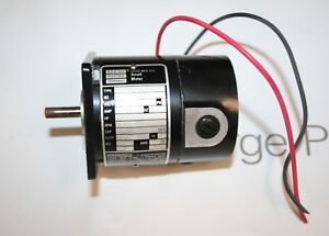 Bodine Electric Small Motor 24y0bepm 115v 0 25a 4000rpm