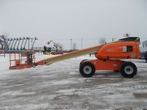Jlg 600s Factory Reconditioned In 2013 Telescopic Boom Lift Man Lift Awp Manlift