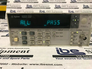 Agilent 53181a Frequency Counter 225 Mhz With Warranty Tested Guaranteed Good