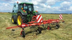 Enorossi G4 17 Pull Type Hay Tedder Ships Free To Texas Surrounding States