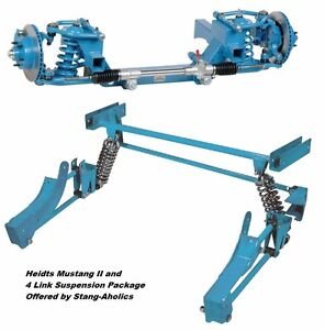 1965 66 67 68 69 70 Heidts Mustang Ii Ifs And 4 Link Rear Suspension Package