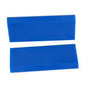 2pcs Blue Max Rubber Squeegee Window Tint Vinyl Application Tools Wrapping Kit