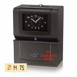 Lathem 4026 Automatic Time Clock day Of Week 0 23hrs Hundredths