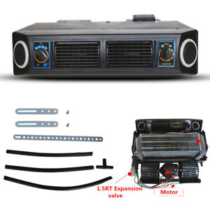 12v Car Air Conditioner Kit Under Dash Cooling Evaporator Compressor 3 Level A C
