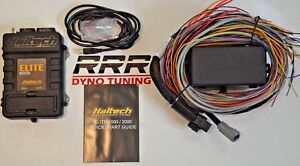 Haltech Elite 1000 Ecu Premium Universal 8ft Long Flying Lead Harness Kit