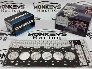 Je Piston And Carrillo Rod Gasket Bearings Kit For Bmw N54b30 84mm Cr 10 2 1