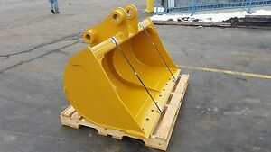 New 60 Ditch Cleaning Bucket For A Caterpillar 311 W Pins