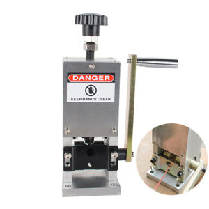 Manual Copper Wire Stripping Machine Hand Crank Cable Peeling Stripper usa
