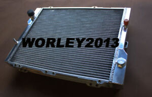2 Core Aluminum Radiator For Audi 80 90 Quattro 2 3 1988 1989 1990 1991 1992