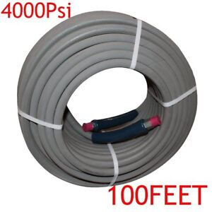 100 Hot Water Pressure Washer Hose With Quick Connects 4000 Psi 3 8 2018 Bp
