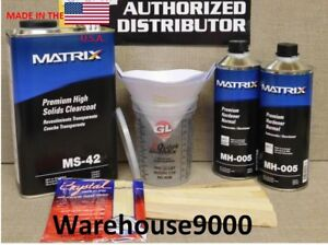 1 Gal Ms 42 Matrix Clearcoat With 2 Quarts Mh Hardener Your Choice Usa Made