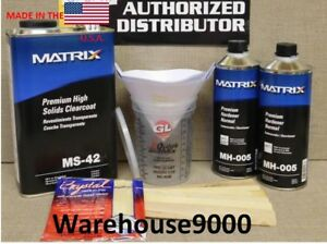 1 Gal Ms 42 Matrix Clearcoat Kit With 2 Quarts Mh Hardener Your Choice
