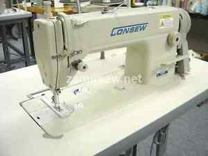 Consew 7360rh Single Needle Industrial Sewing Machine New Complete