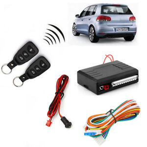 Universal Auto Car Remote Control Central Kit Door Locking Keyless Entry System