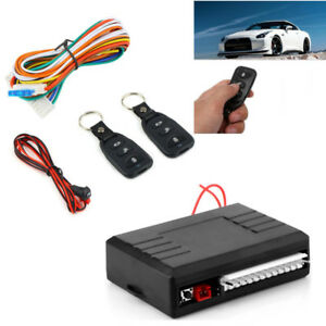 Car Vehicle Door Lock Keyless Entry Security System Remote Central Kit Universal