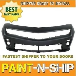 New 2012 2013 2014 2015 Chevy Camaro Conv Front Bumper Zl1 Painted Gm1000931