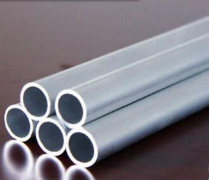 45 Od X 41 Id 2mm Thickness 6061 Aluminum Tube Pipe Round L 48 Inch