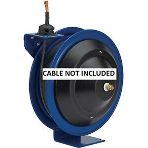 New Spring Rewind Welding Cable Reel 50 6ga Cable Capacity Less Cable